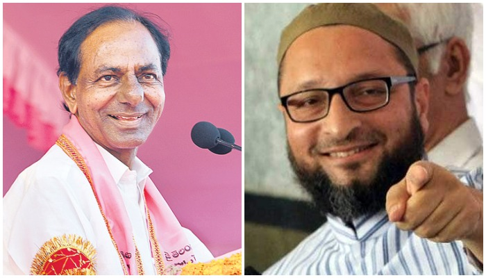 Owaisi, Revanth Reddy roars, anyone scared?