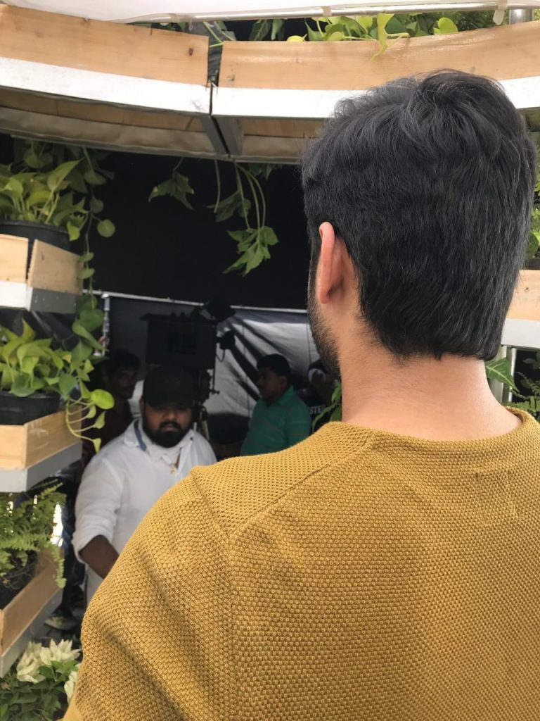 Nithin is back on sets