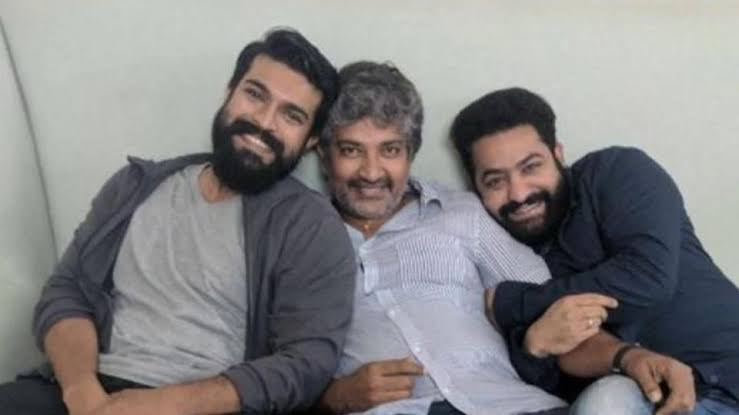 Rajamouli's touch to #RRR