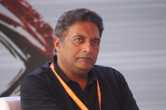 Prakash Raj shooting a web series for noted producer