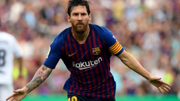 Lionel Messi lands in a controversy