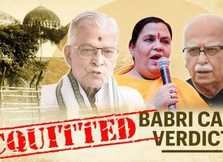 Babri demolition case Updates : All the accused are acquitted by the Judge