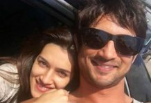 Sushanth Singh and Kriti Sanon
