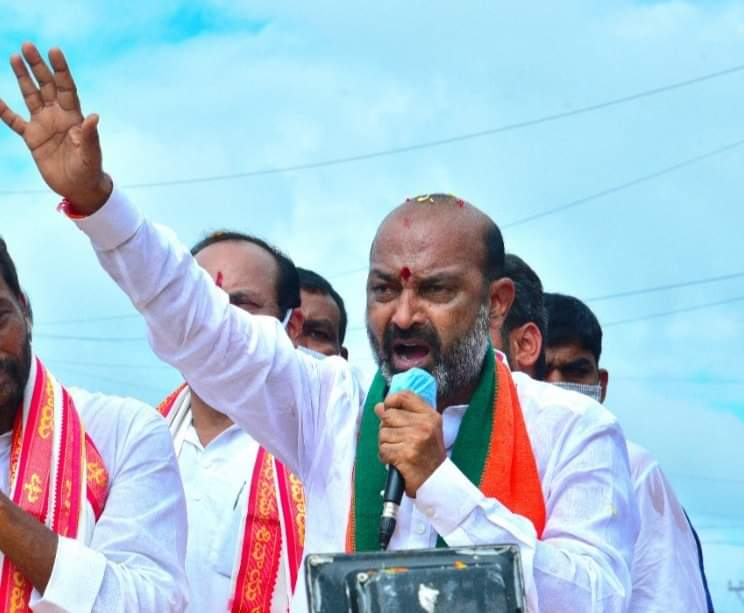 Bandi Sanjay: Will commit suicide if TRS proves me wrong