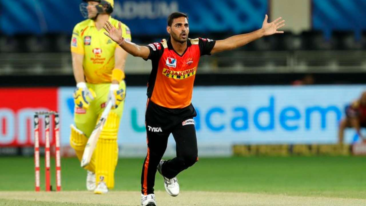 Bhuvneshwar Kumar was ruled out of the ongoing IPL