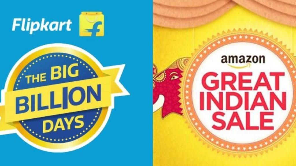 Flipkart and Amazon festive sale great offers and deals