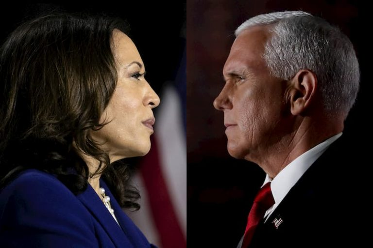 'Greatest failure': Kamala Harris lands early blows against Pence in VP debate
