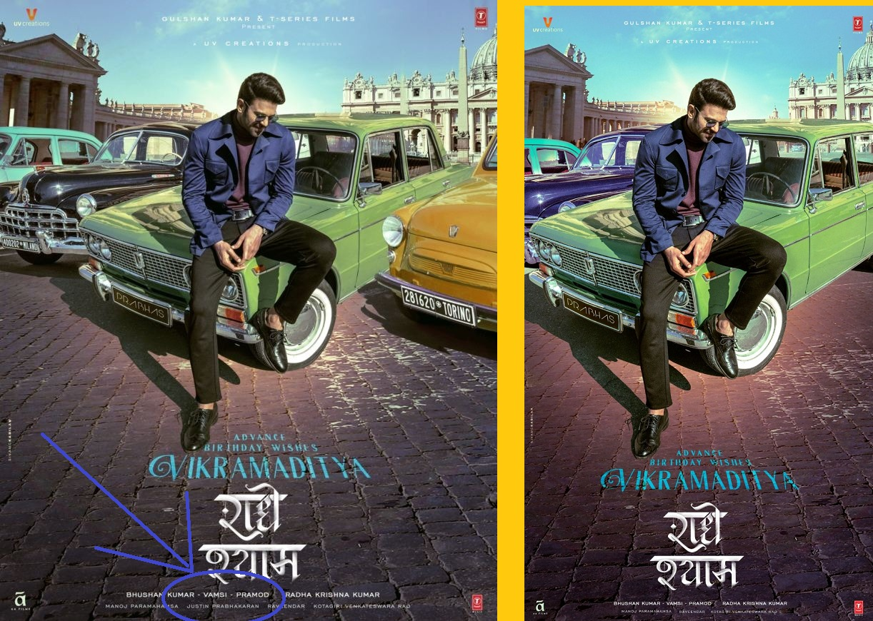 Reel Buzz: Makers mess up with 'Radhe Shyam' posters!
