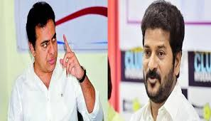 Battle of wits between KTR and Revanth Reddy