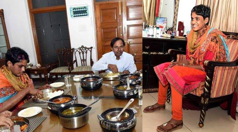 KCR's adopted daughter got engaged