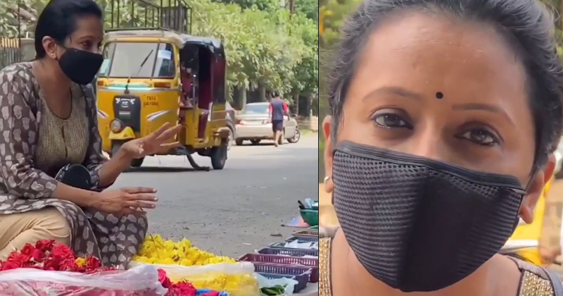 Anchor Suma's funny conversation with the flower vendor.. Viral Video