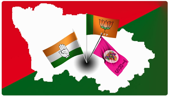 Who is Winning Dubbak Assembly Constituency?