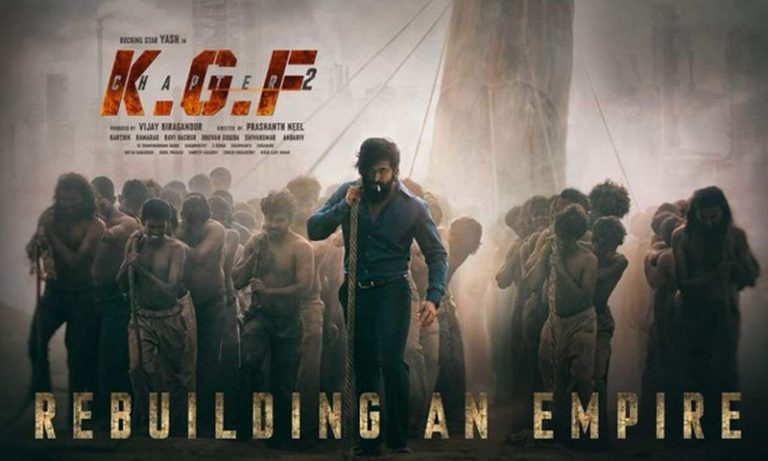 Here's the latest update on KGF Chapter 2