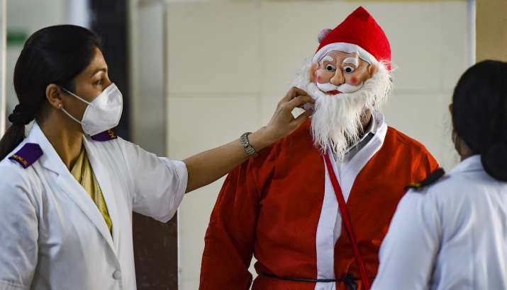 Telugu states celebrate Christmas under Covid shadow