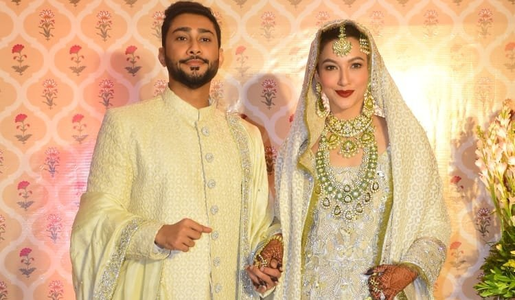Gauahar Khan and Zaid Darbar say 'qubool hai', share wedding photos