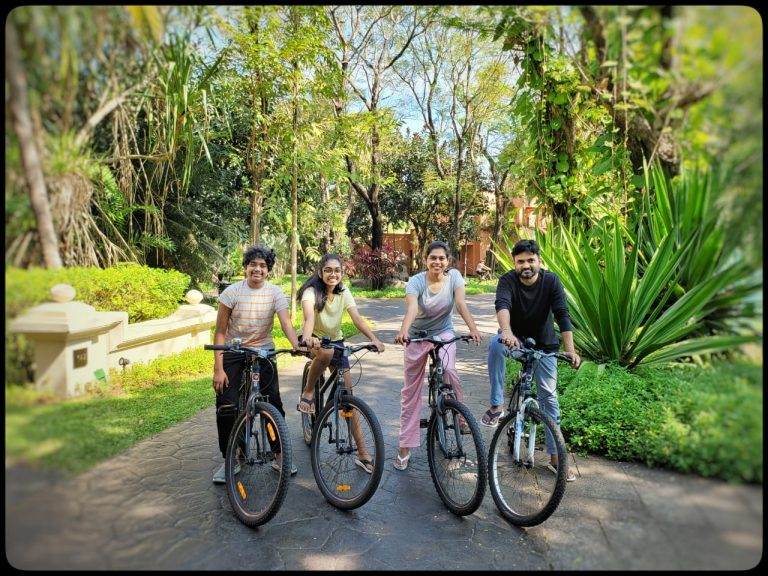 Director Maruthi holidays in Goa with family