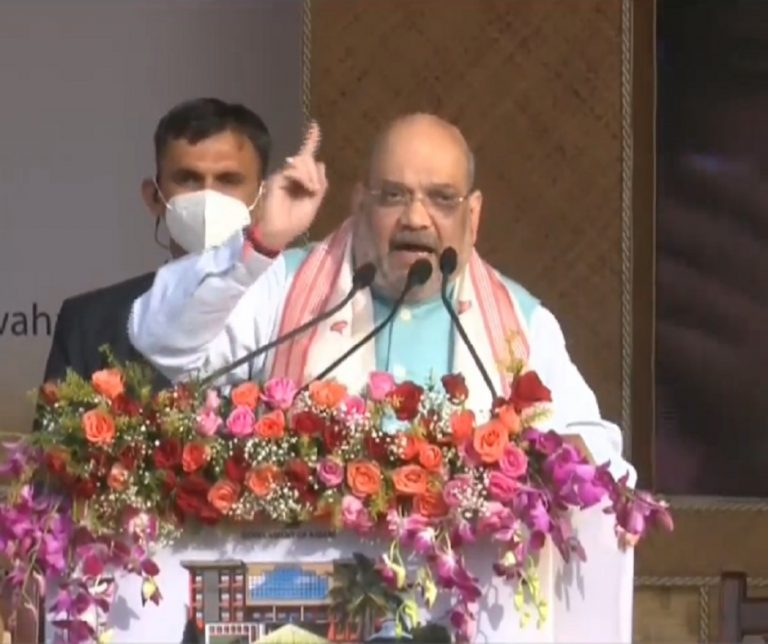 Development is the way forward: Amit Shah at Kamrup rally