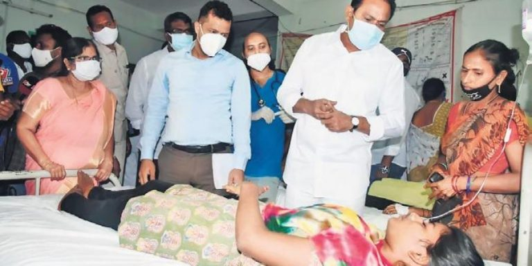 Pesticide residues caused Eluru's mysterious illness: Andhra govt