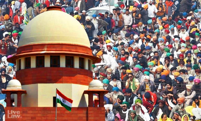 Farmers can protest, can't block roads: Supreme Court