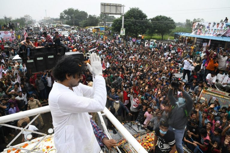 Why is Jana Sena chief Pawan Kalyan silent on the plight of farmers near Delhi?