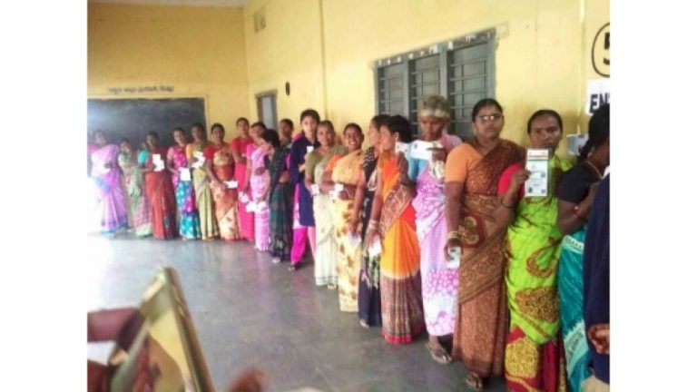 Only 8.9% polling in GHMC polls in first four hours