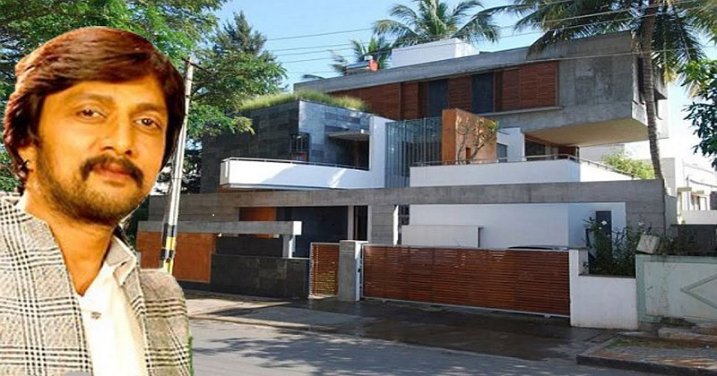 Sudeep purchased a posh bungalow in Hyderabad