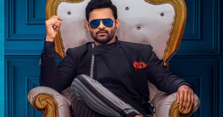 Left with no choice Sai Tej takes promotions in hand