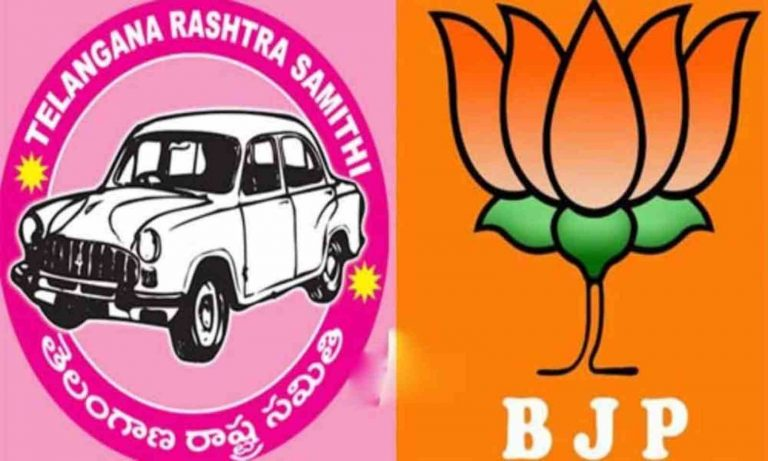 BJP has early lead, but TRS slowly making up