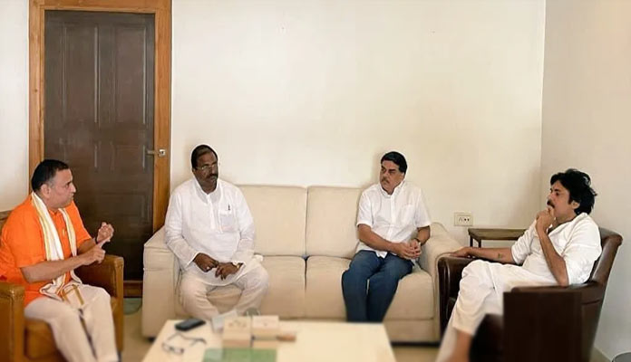 BJP to contest Tirupati LS bypoll with Janasena support