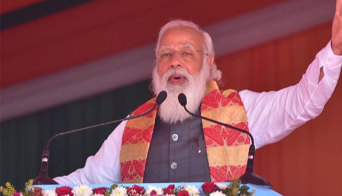 Modi urges voters in Bengal, Assam to cast votes in record numbers