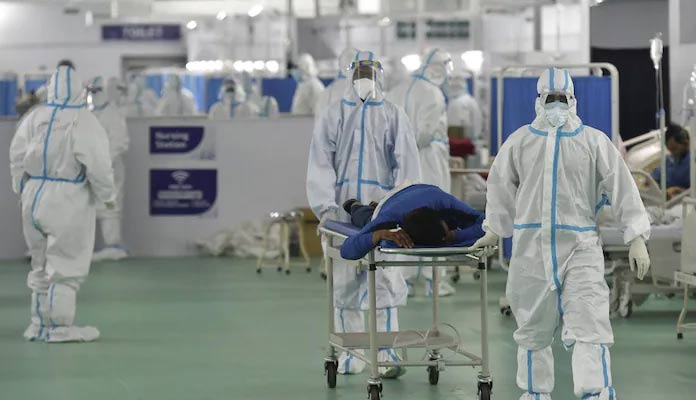 1.34 lakh Covid cases, 2,887 deaths in India in 24 hrs