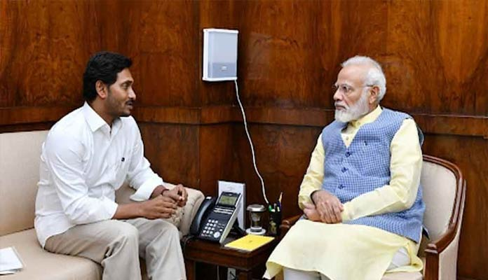 Rein in Telangana's 'Illegal' Water Siphoning For Power: Jagan to PM