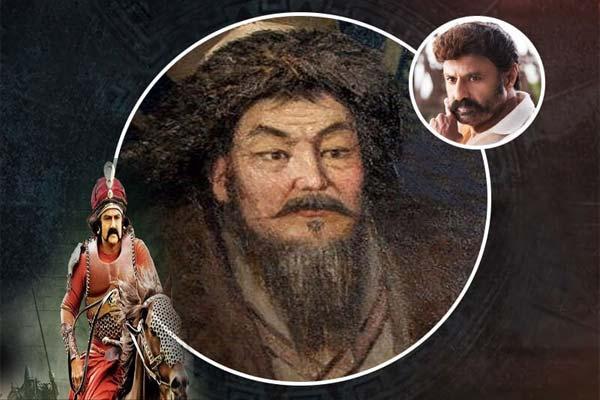 Balakrishna as Genghis Khan