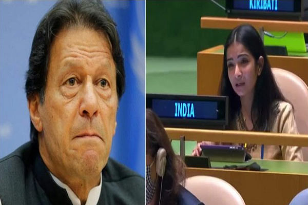 India responds to Imran Khan On Pak Support To Terrorists