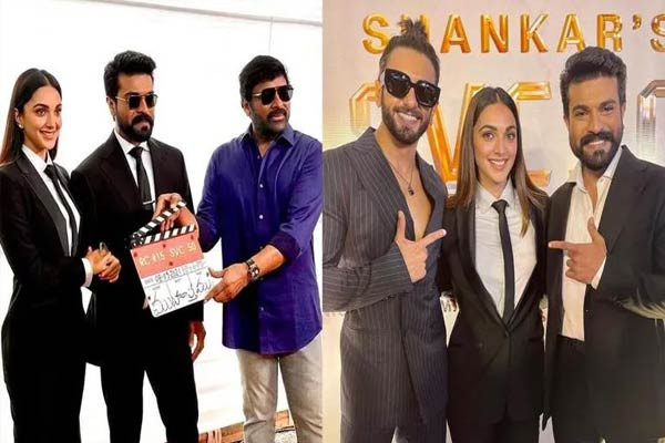 RC15 launched in style: Ram Charan promises a memorable experience