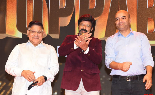 Balakrishna's Unstoppable launched in style